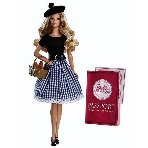 Barbie Dolls of the World France Doll