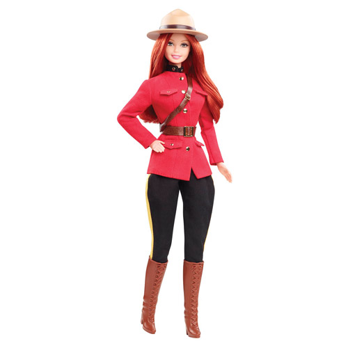 Barbie Dolls of the World Canada Barbie Doll