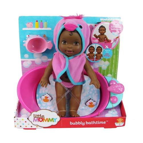 Little Mommy Bubbly Bathtime African American Doll
