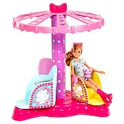 Barbie Sisters Twirly Ride Playset