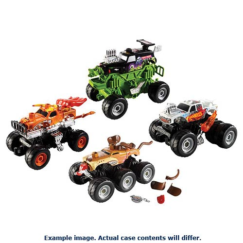 Hot Wheels Monster Jam Custom Crushers Wave 1 Case