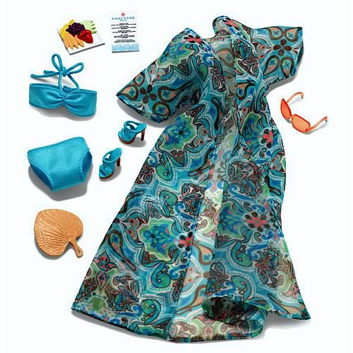 Barbie Look Poolside Fashion Doll Accessory Pack