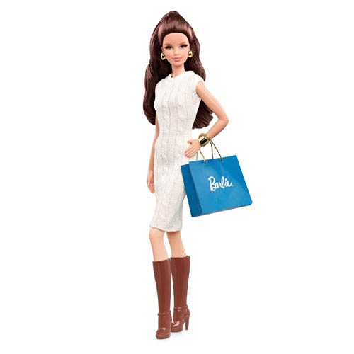 The Barbie Look Brunette City Shopper Doll