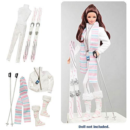 The Barbie Look Snow Ski Fashion Doll Accessory Pack