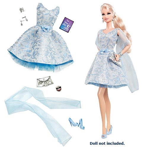 The Barbie Look Ball Gown Fashion Doll Accessory Pack