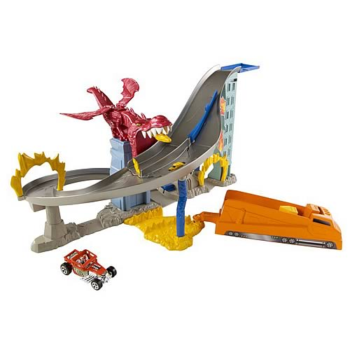 Hot Wheels Dragon Destroyer Track Playset