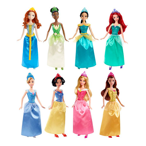 Disney Princess Sparkle Princess Doll Case