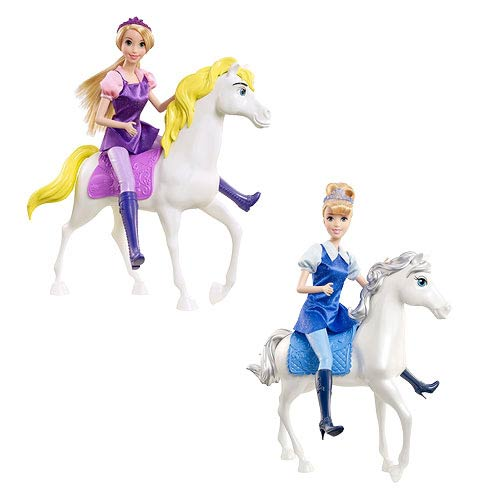 Disney Princess Doll and Horse 2-Pack Case