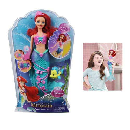 Disney Little Mermaid Ariel Water Show Doll