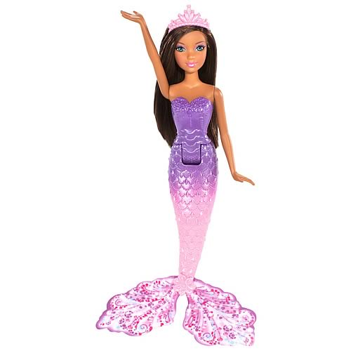 Barbie Mermaid 8-Inch African American Doll