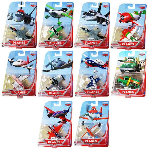Disney Planes Die-Cast Character Vehicles Wave 3 Rev. 1 Case