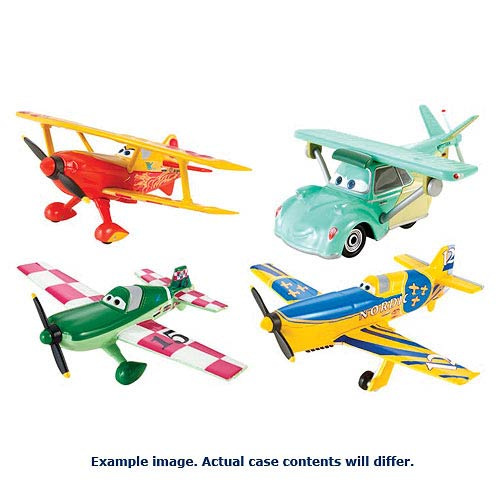 Disney Planes Die-Cast Character Vehicles Wave 4 Case