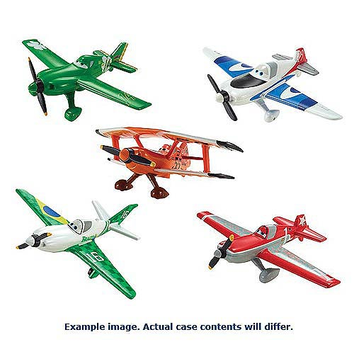 Disney Planes Die-Cast Character Vehicles Wave 5 Rev. 1 Case