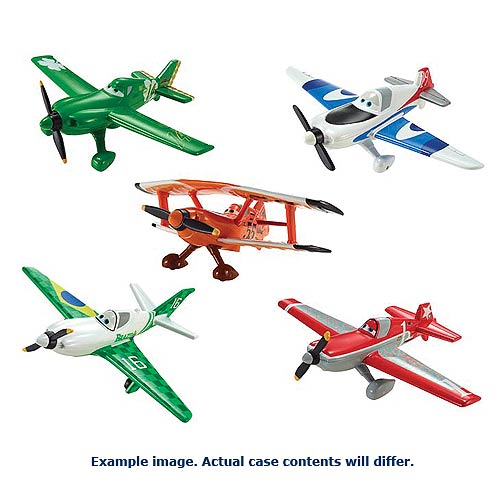 Disney Planes Die-Cast Character Vehicles Wave 5 Rev. 4 Case