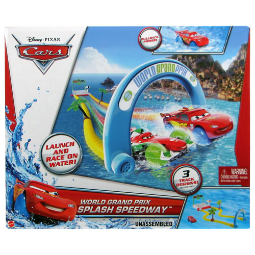 Cars World Grand Prix Splash Speedway Playset