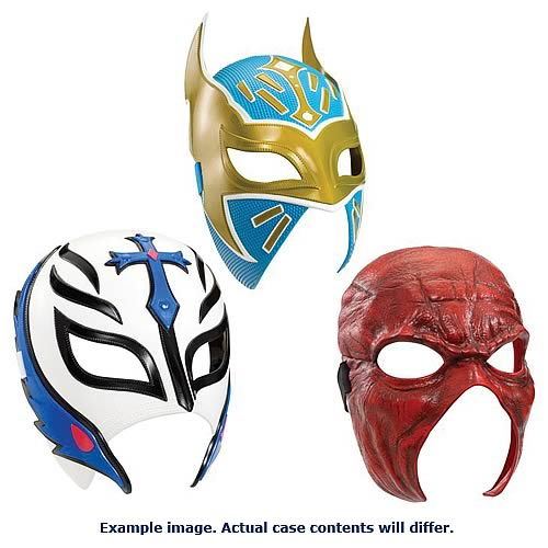 WWE Superstar Masks Wave 1 Case
