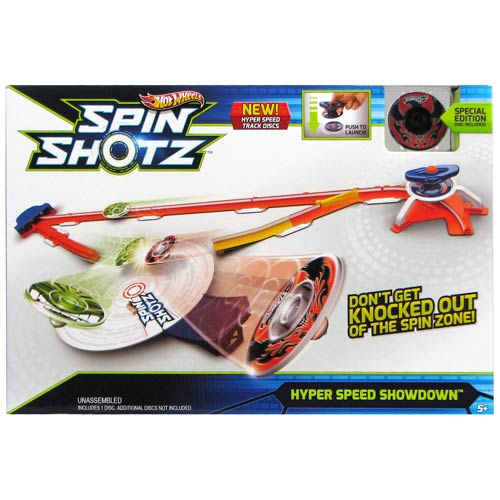 Hot Wheels Spinshotz Hyper Speed Showdown Playset