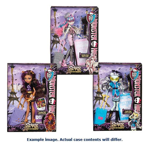 Monster High Scaris Deluxe Travel Dolls Wave 1 Case