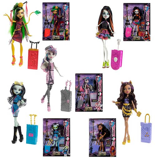 Monster High Scaris Deluxe Travel Dolls Wave 2 Case
