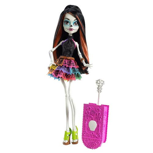 Monster High Skelita Calaveras Scaris Deluxe Travel Doll