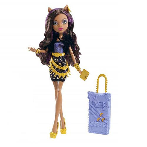 Monster High Clawdeen Wolf Scaris Deluxe Travel Doll  Mattel