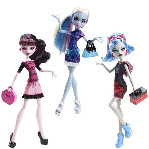 Monster High Scaris Standard Travel Dolls Wv. 1 Rev. 1 Case