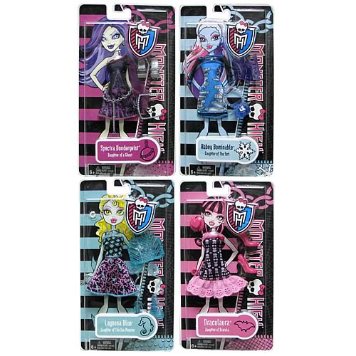Monster High Fashion Pack Doll Accessory Case