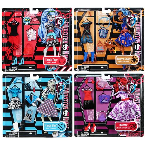 Monster High Core Fashion Pack Doll Accessory Case