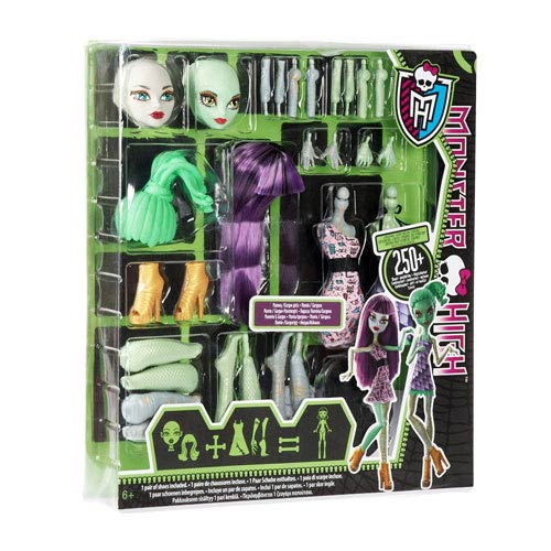 Monster High Mummy & Gorgon Girl Create-a-Monster Starter Pk