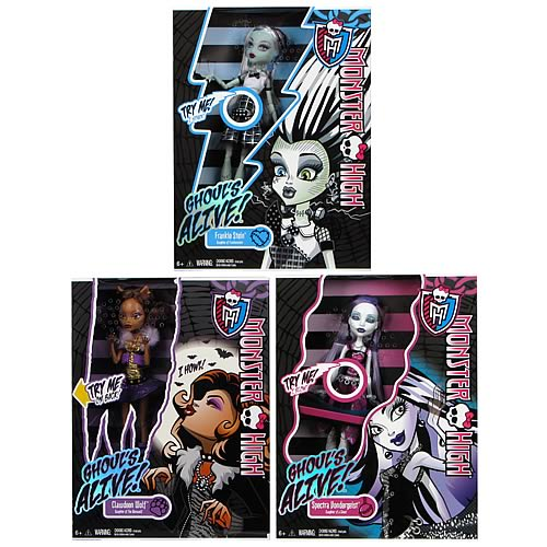 Monster High Ghouls Alive Dolls Case