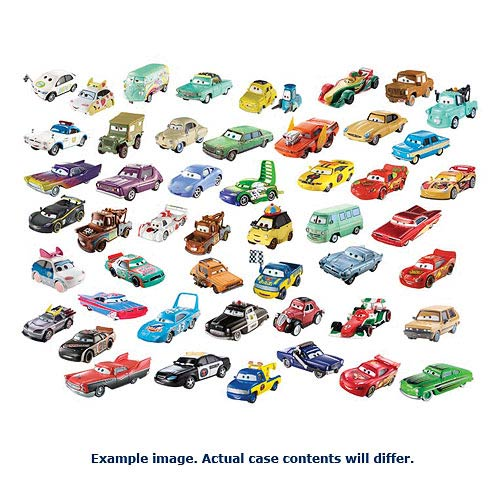 Cars Character Cars 1:55 Scale Wave 3 Vehicle Case