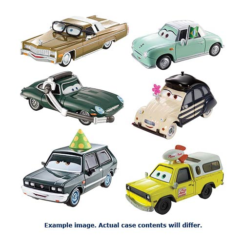 Cars Character Cars 1:55 Scale Wave 6 Rev 2 Vehicle Case