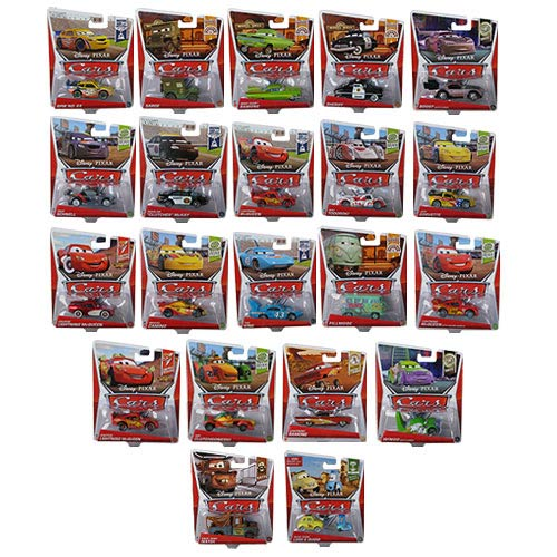 Cars Character Cars 1:55 Scale Vehicles Wave 6 Case
