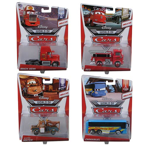Cars Oversized Vehicles Wave 4 Case