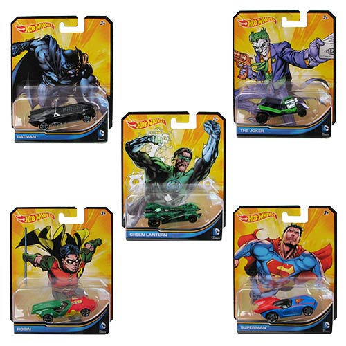 Hot Wheels Entertainment Character Car Wave 7 Case