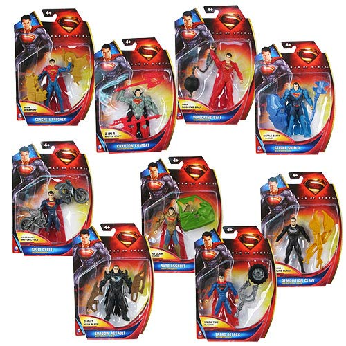 Superman Man of Steel Movie Action Figure Case