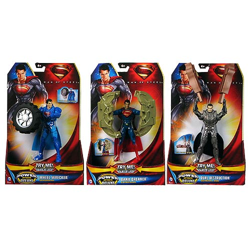Superman Man of Steel Deluxe Power Attack Action Figure Case