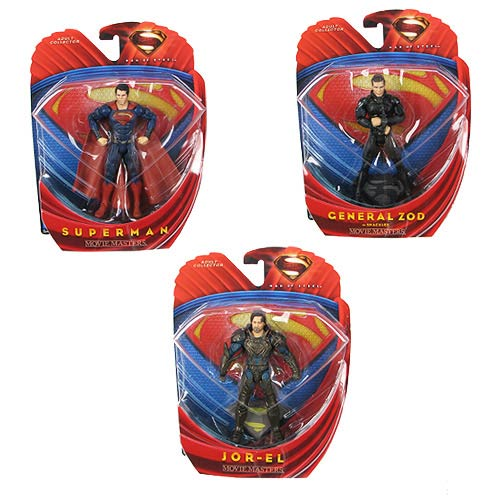 Superman Man of Steel Movie Masters Wv. 1 Rev. 2 Figure Case