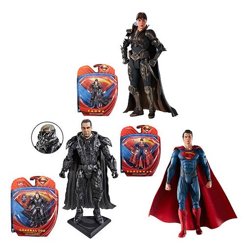 Superman Man of Steel Movie Masters Wv. 1 Rev. 1 Figure Case