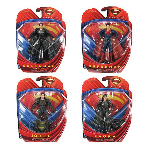 Superman Man of Steel Movie Masters Wave 3 Figure Case
