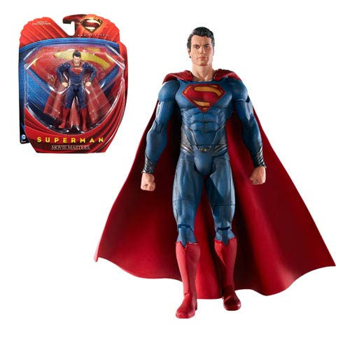 Superman Man of Steel Movie Masters Superman Action Figure