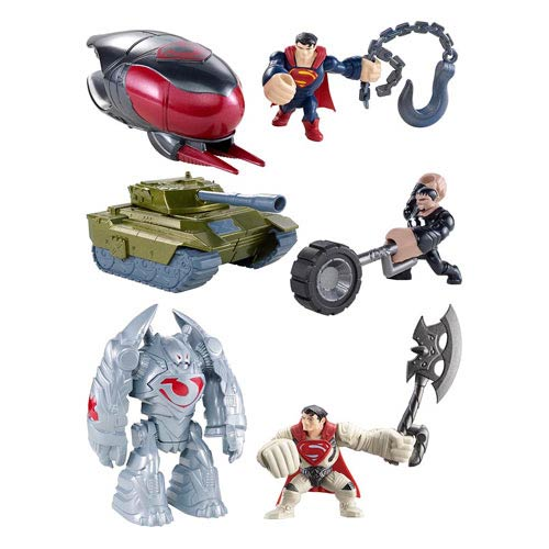 Superman Man of Steel Quick Shots Figure and Vehicle Case