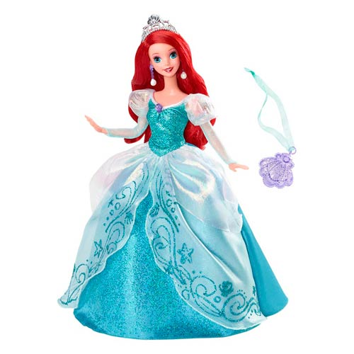 Disney The Little Mermaid Holiday Princess Ariel Doll