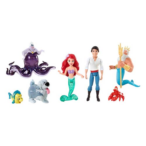 Disney The Little Mermaid Little Kingdom Doll Story Set