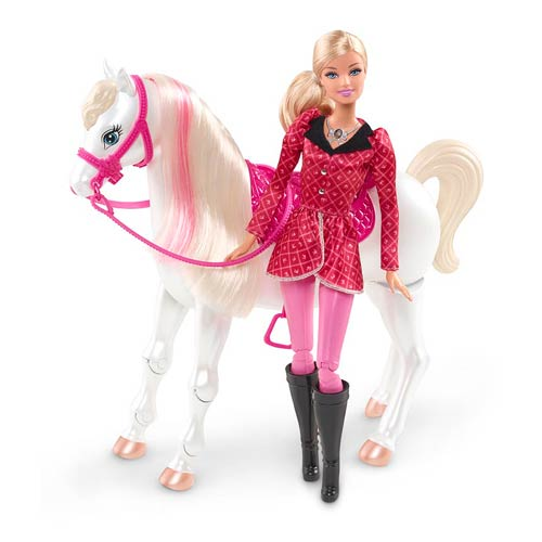 Barbie and Her Sisters in a Pony Tale Feature Horse Doll
