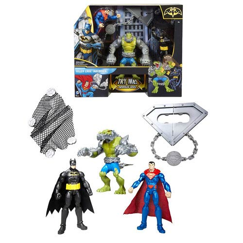Batman Killer Croc Takedown Action Figure 3-Pack