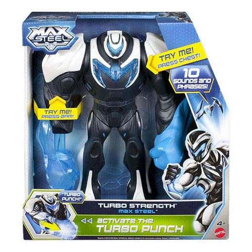 Max Steel Turbo Strength Action Figure Set