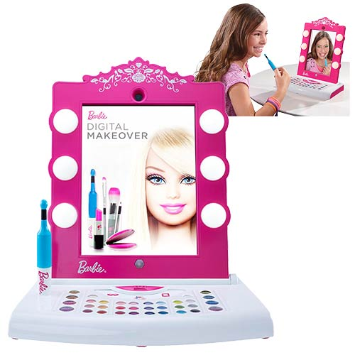 Barbie Digital Makeover Playset