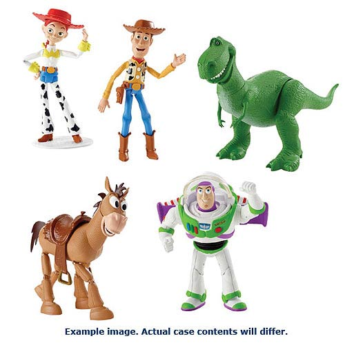 Toy Story Figures : Toy story basic inch wave action figure case mattel