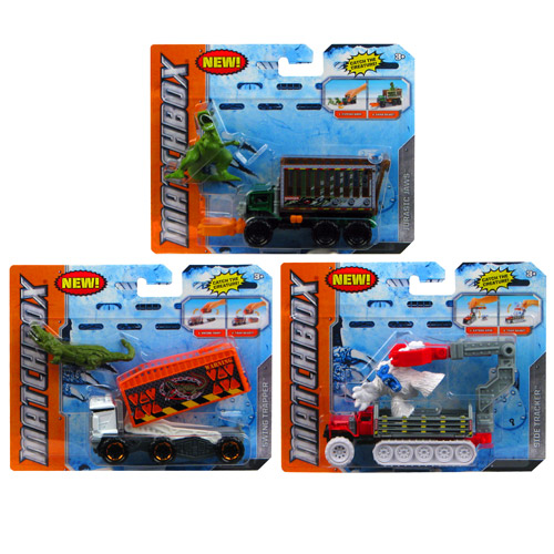 Matchbox Creature Catchers Vehicle and Figure 2-Pack Case